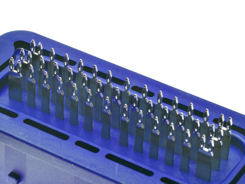Automotive press-fit connectors