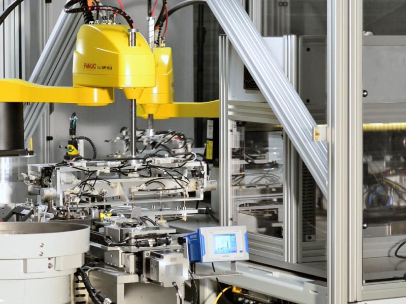 Robot machine for flexible circuits, MSQ, Crimpl flex duflex